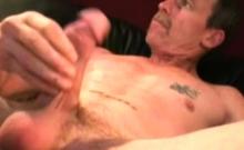 Mature Amateur Scott Jerks Off