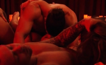 Perverted Swingers Swap Partner And Orgy In The Red Room