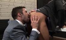 Latin Gay Spanking With Cumshot