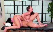 Abigail Scissoring With Slut Masseuse