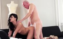 Horny Grandpa Loves Tight Pussy
