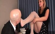 Foot And Nylon Fetish