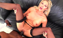 Curvy Blonde Lexi Lowe In Intense Interracial Anal Sex