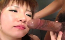 1st time anal on livecam with japanese sweetheart in heats