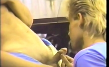 Office Gays In Blowjob Action