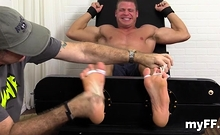 Aroused Gay Fellows In Wicked Foot Fetish Home Porn Scenes