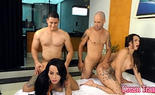 Tranny Girlfriends Melyna Merli And Nicolly Pantoja Are