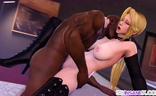 Awesome Super-heroes Getting Hard Sex