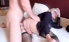 Amateur Couple Fucking Doggystyle For The Cam