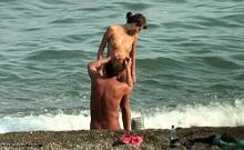 Beach Hidden Cams Couple
