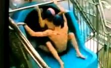 Polish couple at the pool REAL