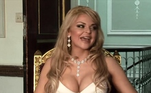 Amazing small tits babe shows pussy in posing with sexy MILF