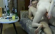 Russian Couple Having Sex